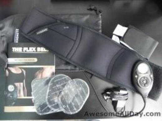 flex belt contents