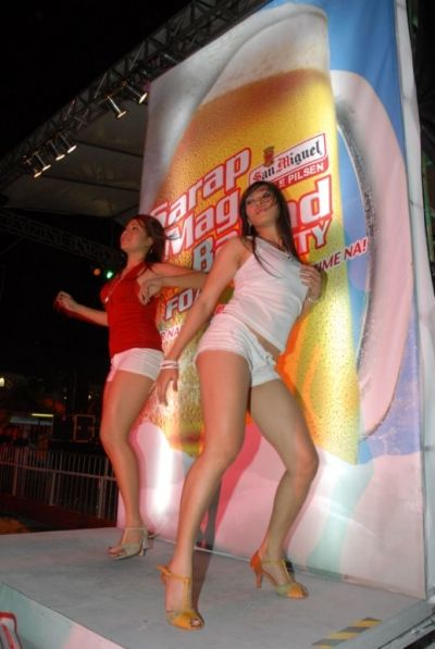 San Miguel Beer Foam Party