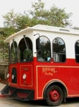 Starved Rock Lodge Trolley