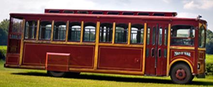 Wadmalaw Trolley