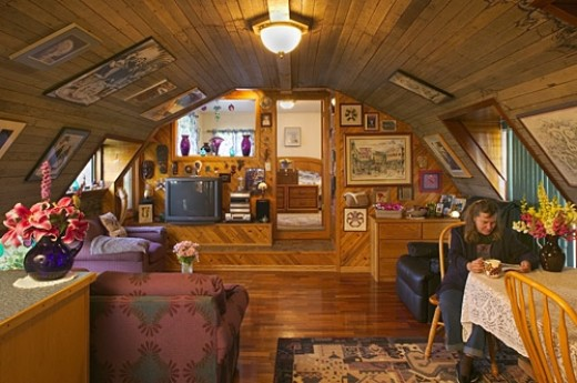 Cool Quonset Homes and One Really Ugly One   DengardenKodiak Home