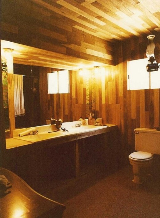 Quonset Hut Bathroom