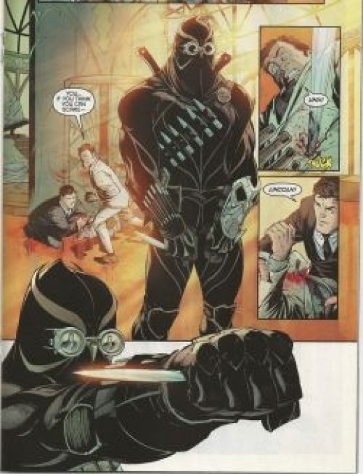 A Talon from the Court of Owls