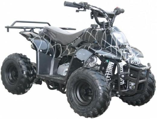 Kids Car 110cc Four Wheeler ATV Spider Black