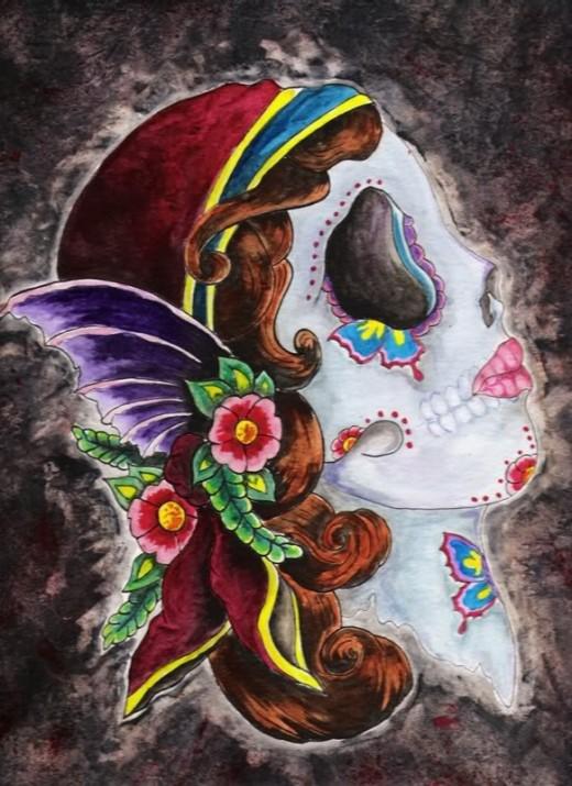 a fairy girl skull source http media beta photobucket