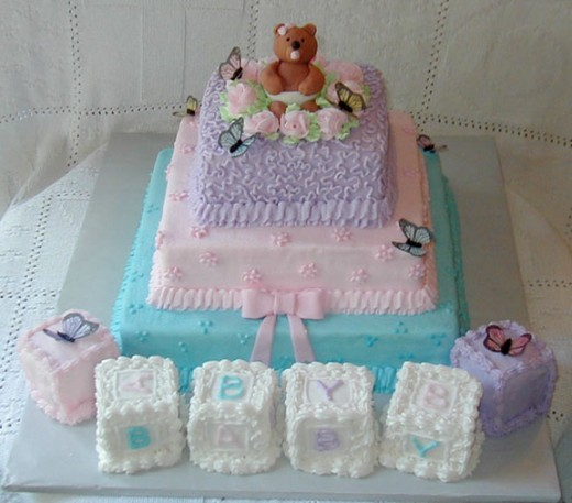 Baby Shower Cake Designs For Girls. Boys Baby Shower Cakes