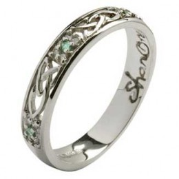 tara celtic wedding ring
