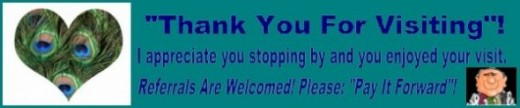 Thank You For Visiting Banner