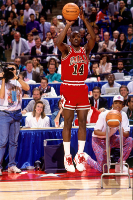 Craig Hodges Won Three Three Point Shootouts