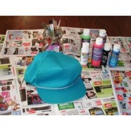 Hat craft materials