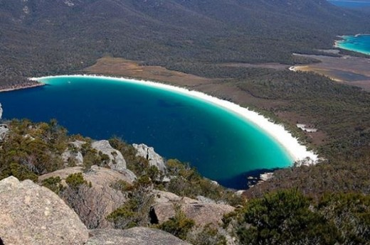 Wineglass bay, Australia