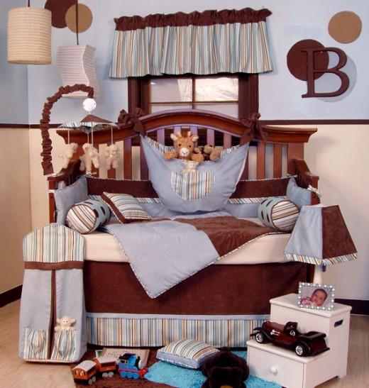 crib bedding for girls, designer crib bedding, banana fish crib bedding, boy crib bedding, glenna jean crib bedding