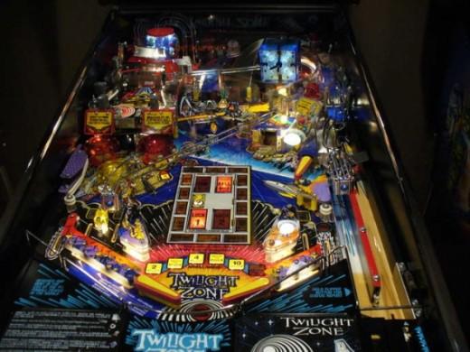 Twilight Zone Pinball Table [CLASSIC}