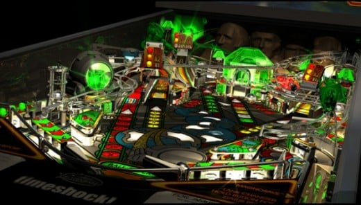 Pro Pinball: Timeshock. One of the greatest simulations of pinball in the world. Has to be seen to be believed. Available for PC and consoles.