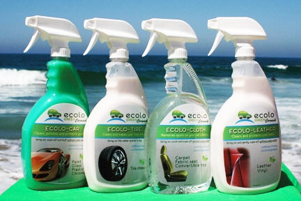 green car wash products