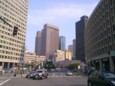 Government Center, Downtown, Boston MA