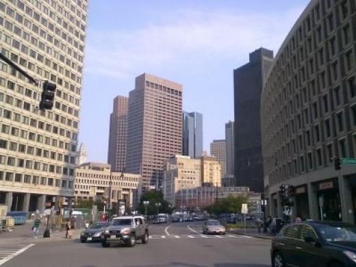 Government Center, Downtown, Boston MA