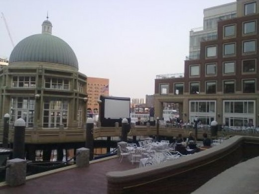 Restaurant at Rowes Wharf