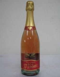 Pink Moscato Wine
