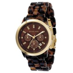 Michael Kors MK5216 Chronograph Tortoise Watch