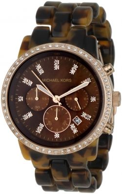 Michael Kors MK5366 Showstopper Tortoise Watch