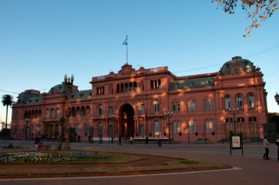 La Casa Rosada (The Pink House, Government Palace)