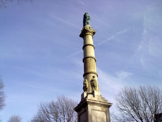 The (Civil War) Soldiers and Sailors Monument