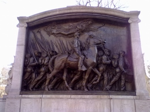 Memorial Colonel Robert Gould Shaw
