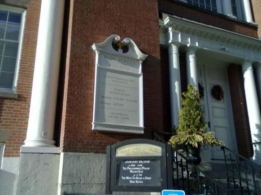 Park Street Church Main Entrance