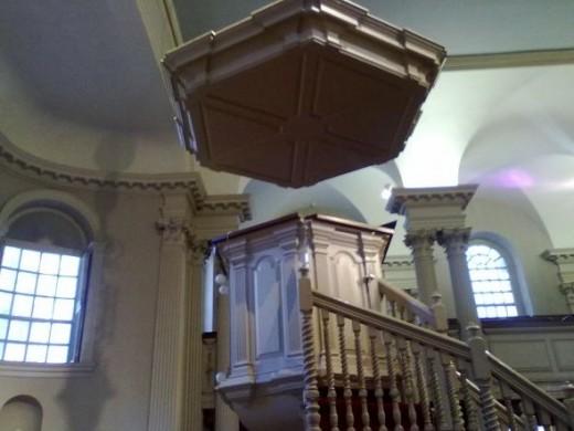 King's Chapel Pulpit