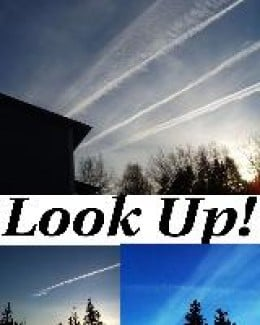 Keep your eyes on the sky!    What have we been sprayed with?