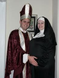 Priest and Pregnant Nun.  Oh My!