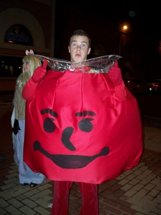 The Kool Aid Man.