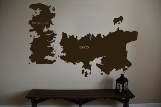 Game of Thrones Wall Decoration