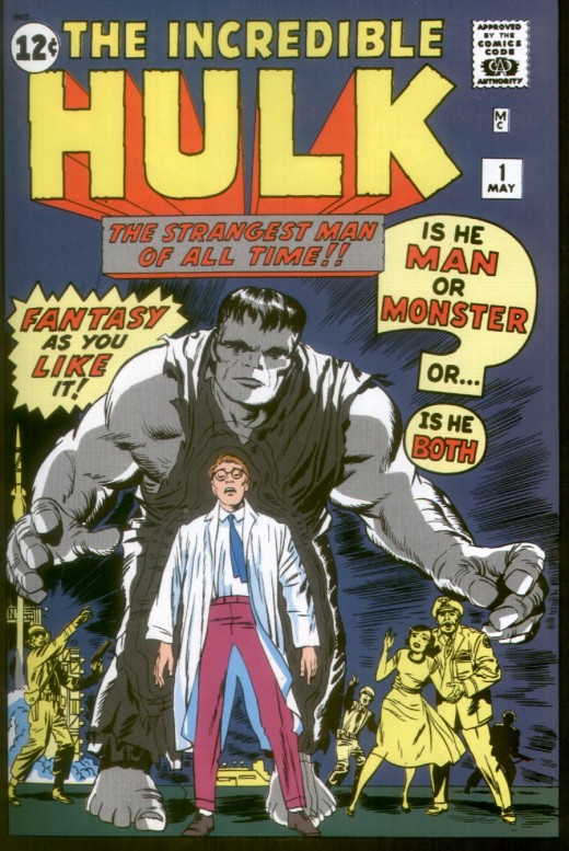 The first issue of The Incredible Hulk. It is hard to believe now, but it was cancelled after only four issues.