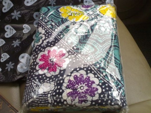 A batik bedsheet. This one is king sized. Nice item to bring tropical ambiance to any home.
