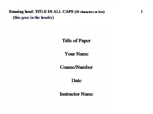 how to do apa formatting