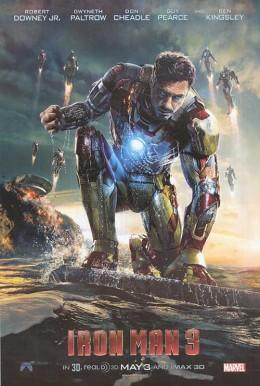 Iron Man 3 also crossed the $1 billion mark.