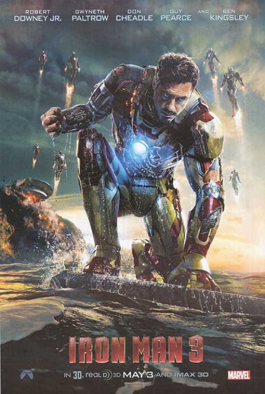 Iron Man 3 also crossed the $1 billion mark.