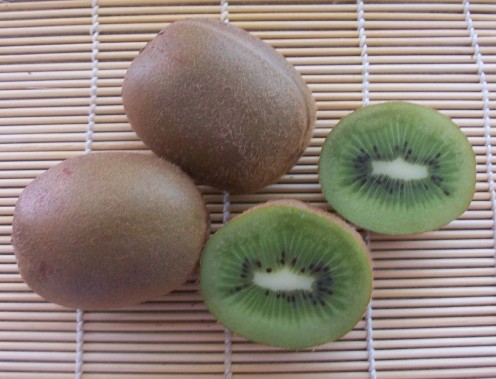 Kiwi fruit are delicious eaten raw, just scoop out the flesh with a teaspoon.