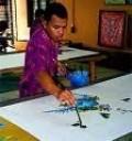 Batik Kaftan Malaysia