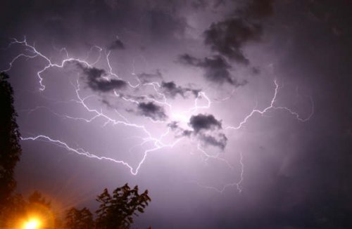 Astraphobia is the fear of thunder and lightning