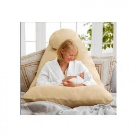 Cozy Comfort Pregnancy Pillow Helps With Nursing