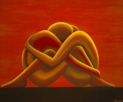 Lovers Knot by Christine Wilson