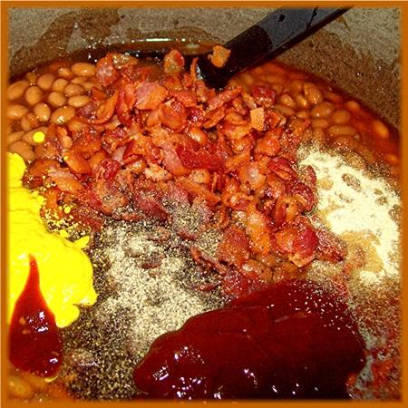 Season the beans