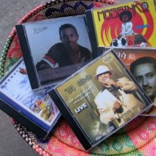 Ethiopian Music Souvenirs from Addis