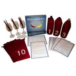 Lay out your Wine Tasting Kit