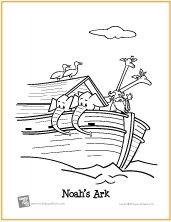 Noah's Ark | Bible Coloring Page