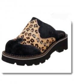 Ariat Women's Fatbaby Mule Clog - Cheetah Print