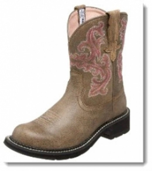 Women's Ariat Fatbaby II Boot - Brown Bomber